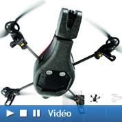 Un hélicoptère Parrot téléguidé par iPhone
