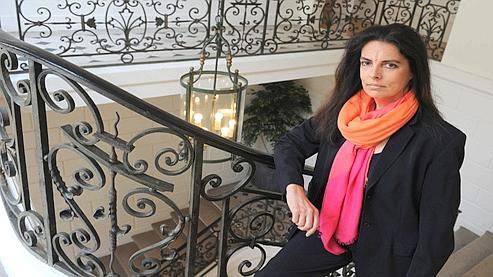 Françoise Bettencourt Meyers : «C'est une histoire tragique dont ma mère est la victime. Il m'appartient comme fille unique de la protéger.» (Crédits photo Jean-Michel Turpin pour Le Figaro magazine)
