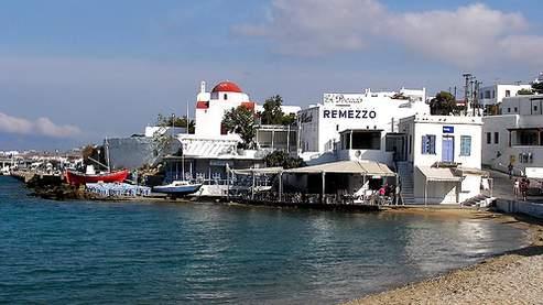 Port de l'île de Mykonos. Crédits photo : DR.