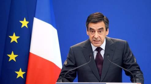 Le premier ministre François Fillon, lors d'une conférence de presse à Matignon ce vendredi.