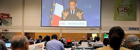 Sarkozy promet un G8-G20 «dix fois moins coûteux» en France