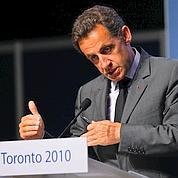 Sarkozy : «Nous sortons vidés de ces sommets»