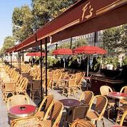 Terrasse du Fouquet's.