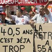 Réforme des retraites : grève début septembre