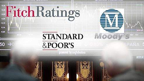 Fitch Ratings, standard & Poor's et Moody's