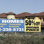 Immobilier américain : craintes d'une rechute