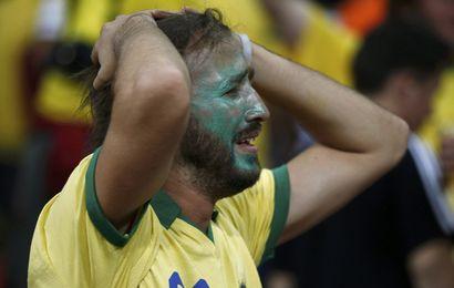 Le Brésil ne s'en remet pas