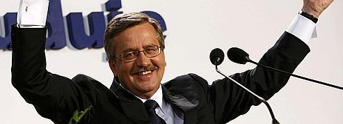Pologne : Komorowski remporte la présidentielle
