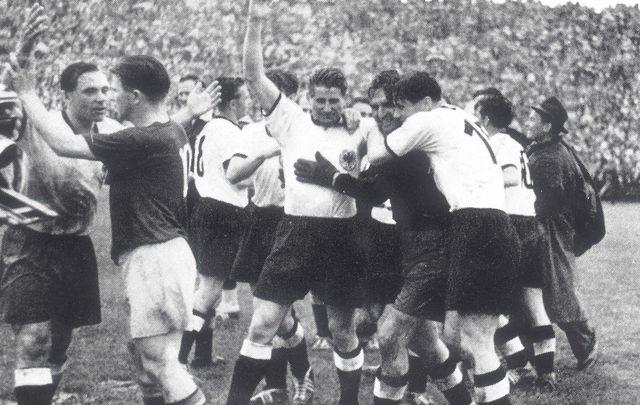 4 juillet 1954, la Mannschaft terrasse la Hongrie