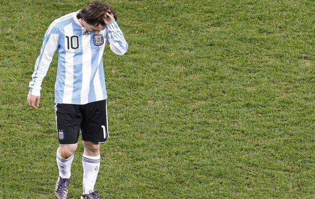 Messi finit fanny