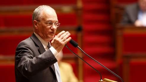 Le rapporteur UMP du budget Gilles Carrez.