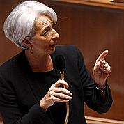 Christine Lagarde se veut rassurante