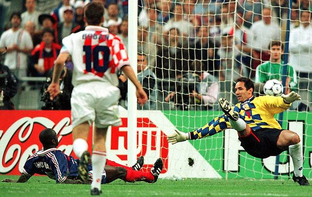6 juillet 1998, Thuram envoie la France en finale