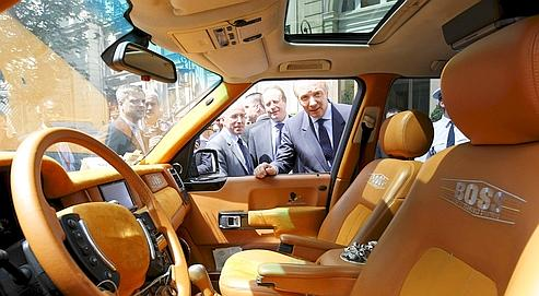 L 39 origine parfois tr s douteuse des voitures de luxe for Interieur de voiture de luxe