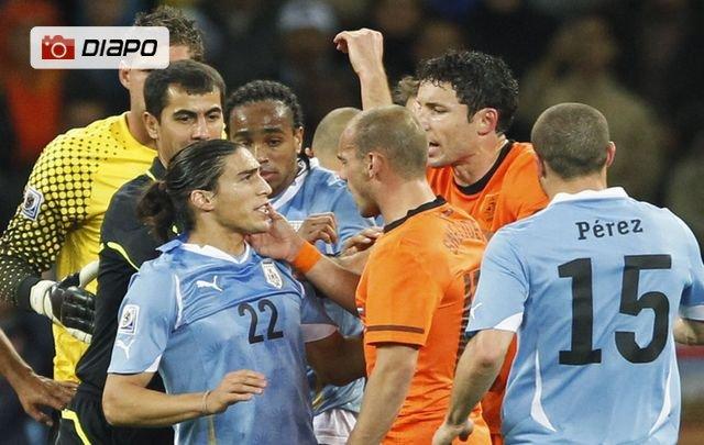 Uruguay-Pays-Bas en images