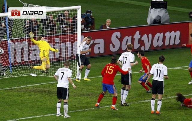 Allemagne-Espagne en images