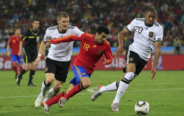 Les chiffres d'Allemagne-Espagne