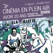 Cinéma en plein air à la Villette !