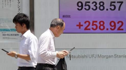 L'Asie boursière reste dans le vert