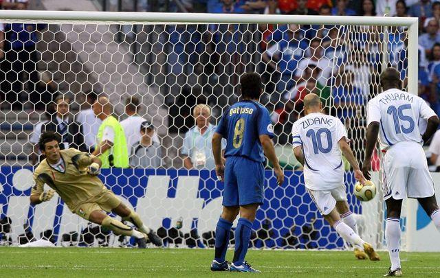 10 juillet 2006, le hold up de l'Italie