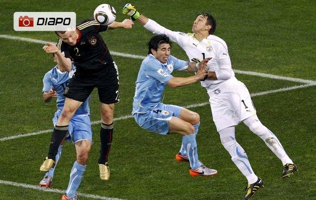Uruguay-Allemagne en images