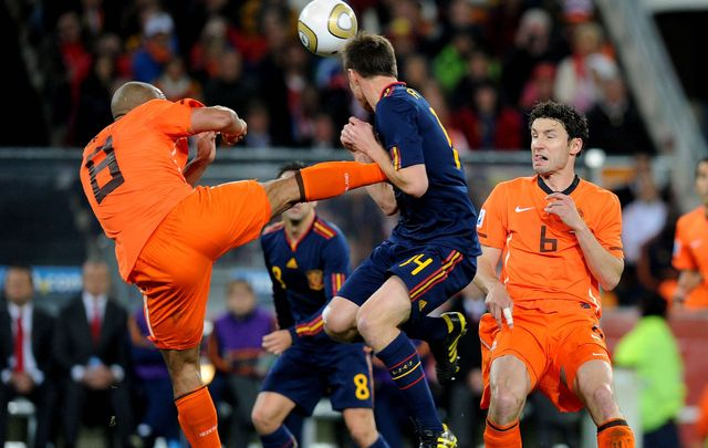 Les Oranje ont «pourri» la finale