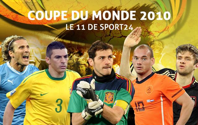 L'équipe type de Sport24.com