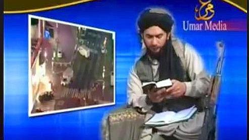 Capture d'écran de la vidéo diffusée mercredi par la chaîne Al Arabiya. Crédits photo : Al Arabyia