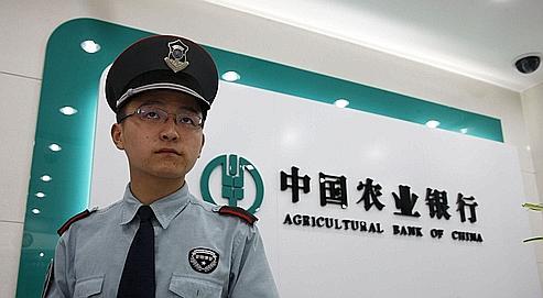 L'Agricultural Bank of China est un peu l'équivalent local du Crédit agricole… mais avec une clientèle de 320millions de personnes !