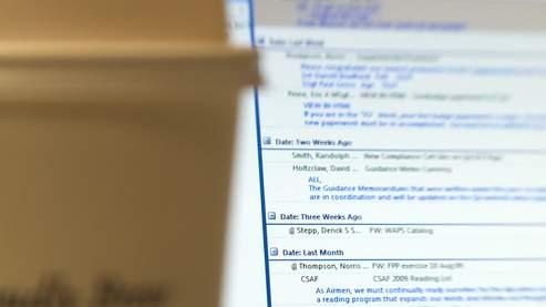 Lutter contre les effets pervers des e-mails au bureau