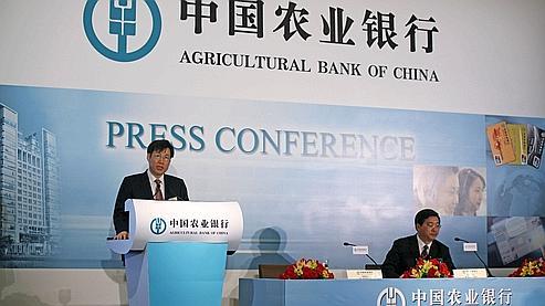 Agricultural Bank of China pourrait manquer son pari