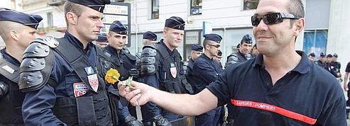 A Nice, des heurts éclatent entre pompiers et policiers