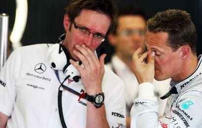 Schumacher ne fait plus l'unanimité