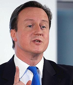 David Cameron, lundi Liverpool, lors de son discours sur la «Big Society».