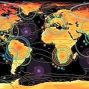 Le réchauffement climatique cartographié