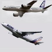 Moisson de contrats pour Airbus et Boeing