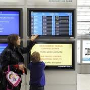Les transports aériens sont perturbés