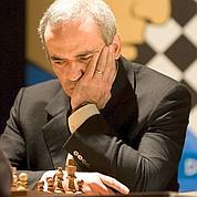 Kasparov, d 'un échiquier à l'autre