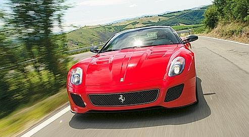 Ferrari 599 GTO : un «O» de fascination