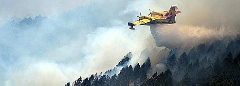 Le plan de la Sécurité civile contre les feux de forêt