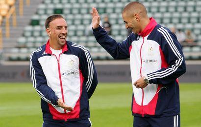 Ribéry et Benzema sélectionnables