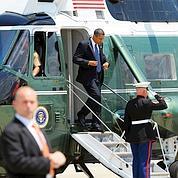 À la peine, Obama repart en campagne