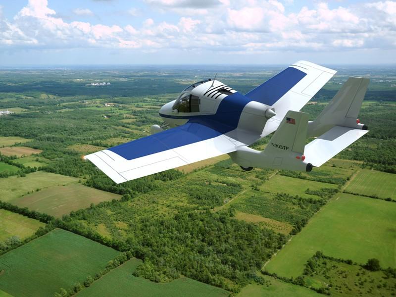 Le petit avion peut atteindre une vitesse de 185 km/h. Son réservoir de 87 litres lui confère une autonomie approximative de 800 km.