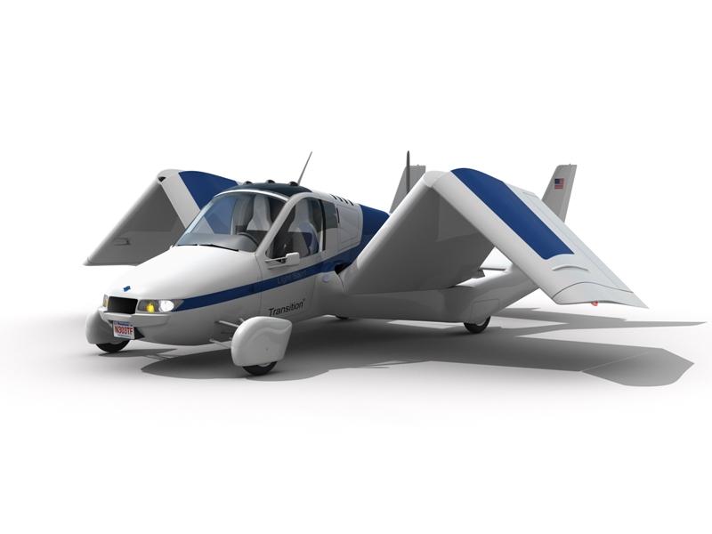 L'entreprise Terrafugia a profité du salon EEA Airventure à Oshkosh pour dévoiler, le 26 juillet, le design de ce qui devrait être la première voiture volante jamais commercialisée. Quelque 70 commandes auraient déjà été passées. Les premiers modèles doivent être livrés à la fin de l'année 2011.