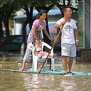 Des pluies diluviennes noient la Chine