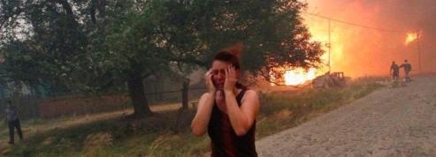 La Russie ravagée par des feux <br />de forêt» class=»photo» /></font></strong></a><br /> <strong><font face=