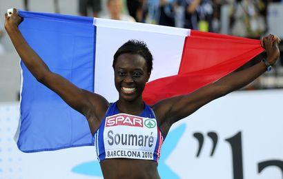 Myriam Soumaré a décroché l'or sur le 200 m !