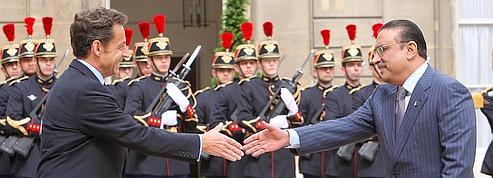 Zardari et Sarkozy évoquent la lutte antiterroriste