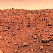 Des traces potentielles de vie sur Mars