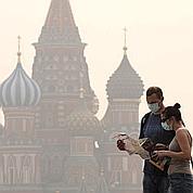 Moscou transformée en cité fantôme